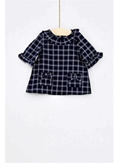 çikoby Çikoby Kız Bebek Kareli Gömlek CK-CK9630
